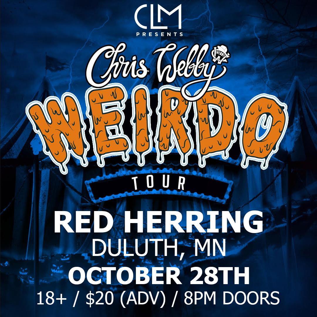 Chris Webby Live Clm Presents