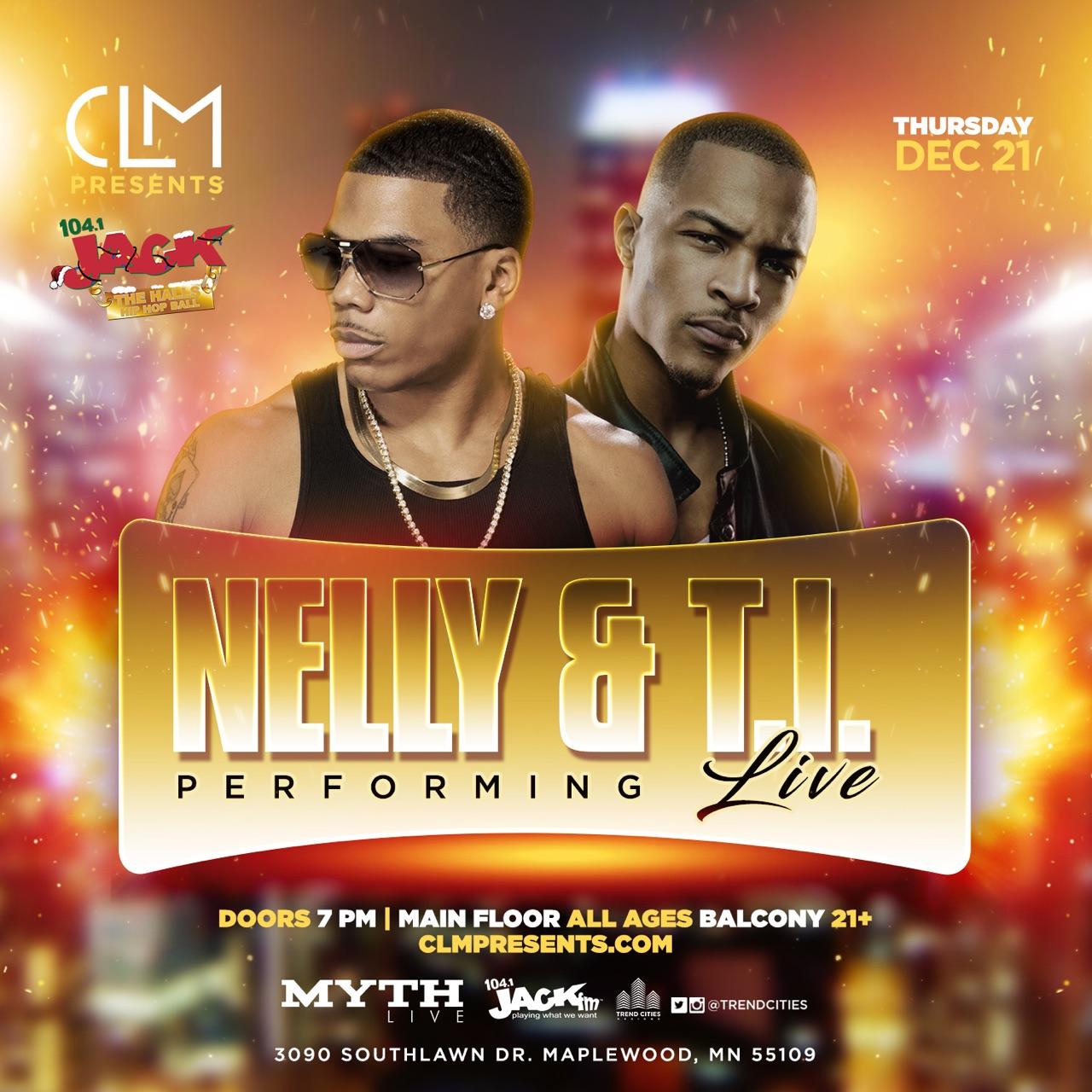 Nelly Ti Live Clm Presents Llc